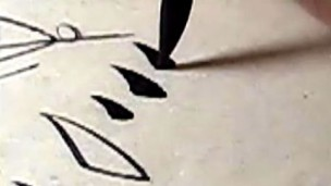田雪松楷书基本笔画讲解